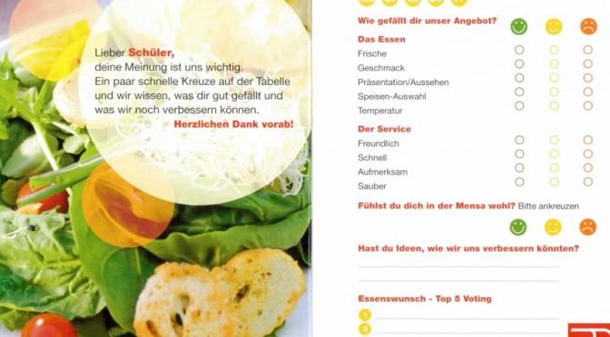 """""""Große Umfrage"""" zum Mittagessen"""