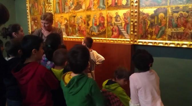 Klasse 3c erkundet  die Kunsthalle