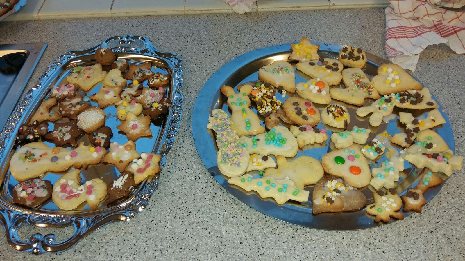 Weihnachtsbacken der Klasse 2c | Schule An der Glinder Au