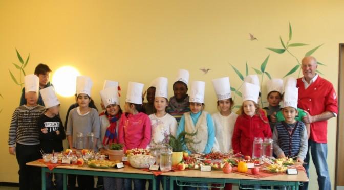 Kochwoche in der Klasse 4c