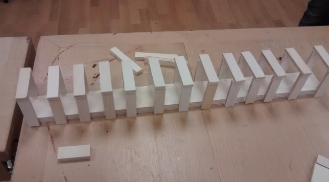 Klasse 3a in der Holzwerkstatt