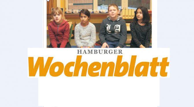 Hamburger Wochenblatt im Februar
