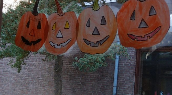 Halloweenfeier in der Klasse 4a